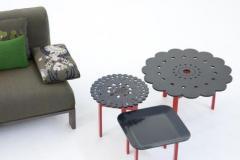 Столики низкие с эксклюзивным дизайном от MOROSO
