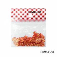 FIMO-C-08Фигурки FIMO в форме красно-оранжевых
