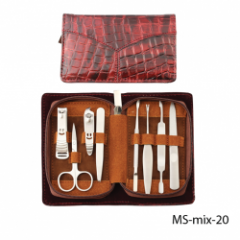 MS-mix-20 Маникюрный набор в стильной упаковке