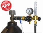 Ar/CO2 expense regulator with the rotameter