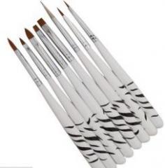 Набор кистей для рисования Zebra (8шт)