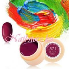 №571 Гель-краска CANNI 5 мл (темно-вишневая)