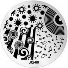 JQ-60 Диск для нейл стемпинга