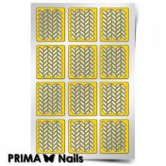 Трафарет для дизайна ногтей PRIMA Nails.