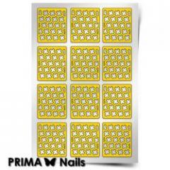 Трафарет для дизайна ногтей PRIMA Nails. Крестики