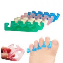 K-8 Разделитель силиконовый для пальцев ног, пара