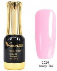 #1010 Гель-лак VENALISA Lovely Pink 12мл.