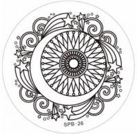 SPB-26 Диск для нейл стемпинга
