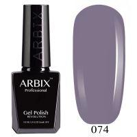 Гель-лак Arbix №074 Нуар 10мл.