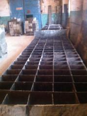 Формы для производства бетонных изделий, формы для