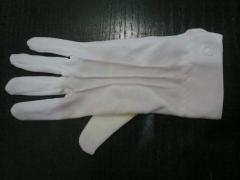 Gloves front doors, overalls for services industry