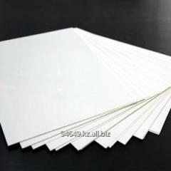 Белый листовой ABS пластик