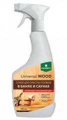 Universal Wood PROSEPT(Универсал Вуд) спрей для очистки полков в банях и саунах.0,5 л.