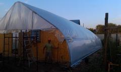 Фермерские теплицы туннельного типа