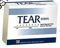 Тест-полоски офтальмологические TearStrips для