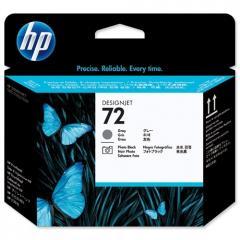 Печатающая головка HP C9380A№72 Gray/Photo Black