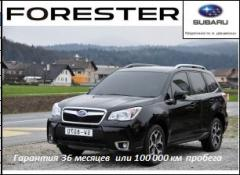 Cars jeeps, forester Subar