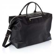 Дорожная сумка, черный, Длина 46 см., ширина 42,5