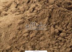 Sand quartz fractioned