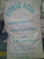Моногидрат лимонной кислоты под заказ