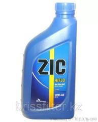 Минеральное моторное масло ZIC Hiflo 10w40 SH 1л