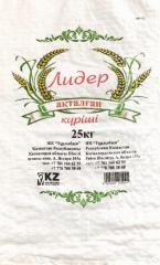 Мешки для риса полипропиленовые без вкладышей