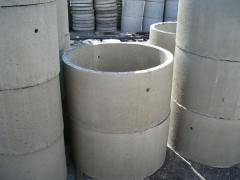 Rings are reinforced concrete, building materials