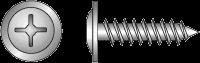 Шуруп для крепления листов металла до 0,9 мм к метал. и деревянным подконструкциям, размер 4,2x19