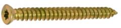 Шуруп монтажный для крепления оконных рам и дверных коробок, размер 7,5х122