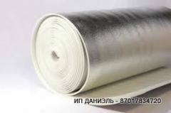 Подложка с фольгой под ламинат, линолеум, бетон, размер 5 мм