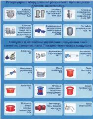 The reservoir equipment in Almaty