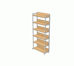 The rack is library one-sided, STB-1