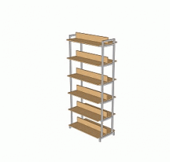 STB-2 Rack library bilateral.