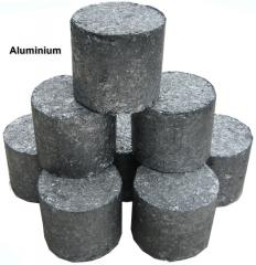 The aluminum bricketed high density