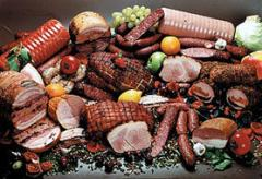 Wholesale of meat products