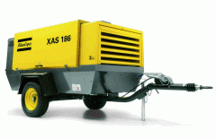 Atlas Copco XAS186 diesel compressor