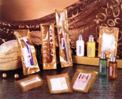 Sets perfumery for hotels