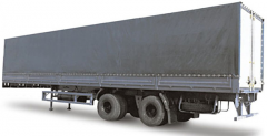 Semi-trailer tentovanny MAZ 938662