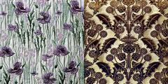 Fabrics in the Renaissance style