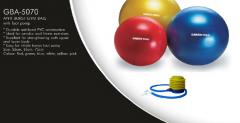 Ball for gymnastics of Anti burst gym ball