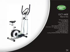 Ski 440E, Elliptic exercise machine