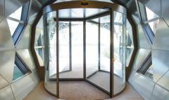 Автоматические карусельные двери  в Алматы