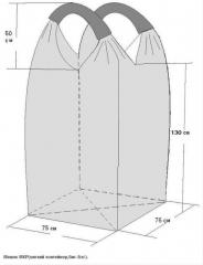 ΜR bag (soft container, Big-Beg).