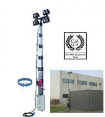 Lighting mast of TowerLight, Italy, m CTF5.5 Model
