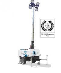 Lighting mast of Tower Light Italy, VB-9-M Model,