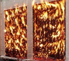 Glass fire-resistan