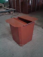 Containers, ballot boxes