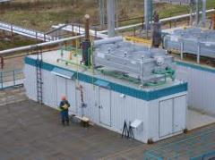 Gas-piston gas-turbine Electra of station
