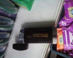 Lighter with a cover and a small lamp No. 750