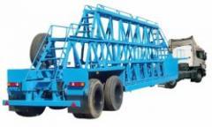 Semi-trailers concrete panel trailers, the ChMZAP
